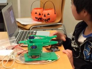 OtOMO Scratch ロボットアームワークショップ