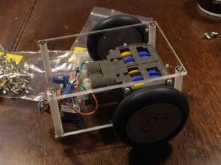 Raspberry Pi Robot 2号機を作ってみる