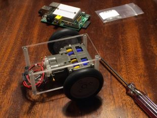 Raspberry Pi Robot 2号機を作ってみる その3