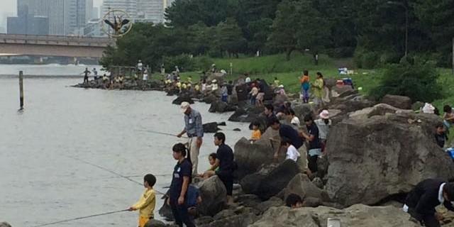 京浜運河 しおじ磯