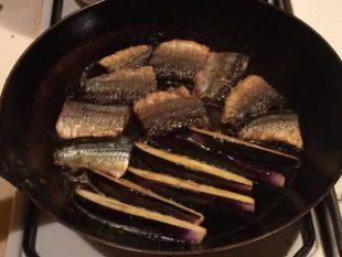 秋刀魚のカレー