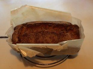 リンゴミントケーキ