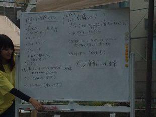 豆:伊藤一城(スパイスカフェ)「打豆干し野菜カレー」
