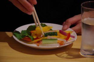 生野菜サラダチャットマサラ和え