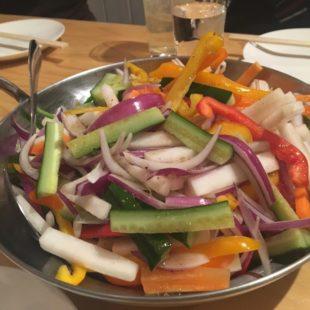 生野菜サラダ スパイスドレッシング和え