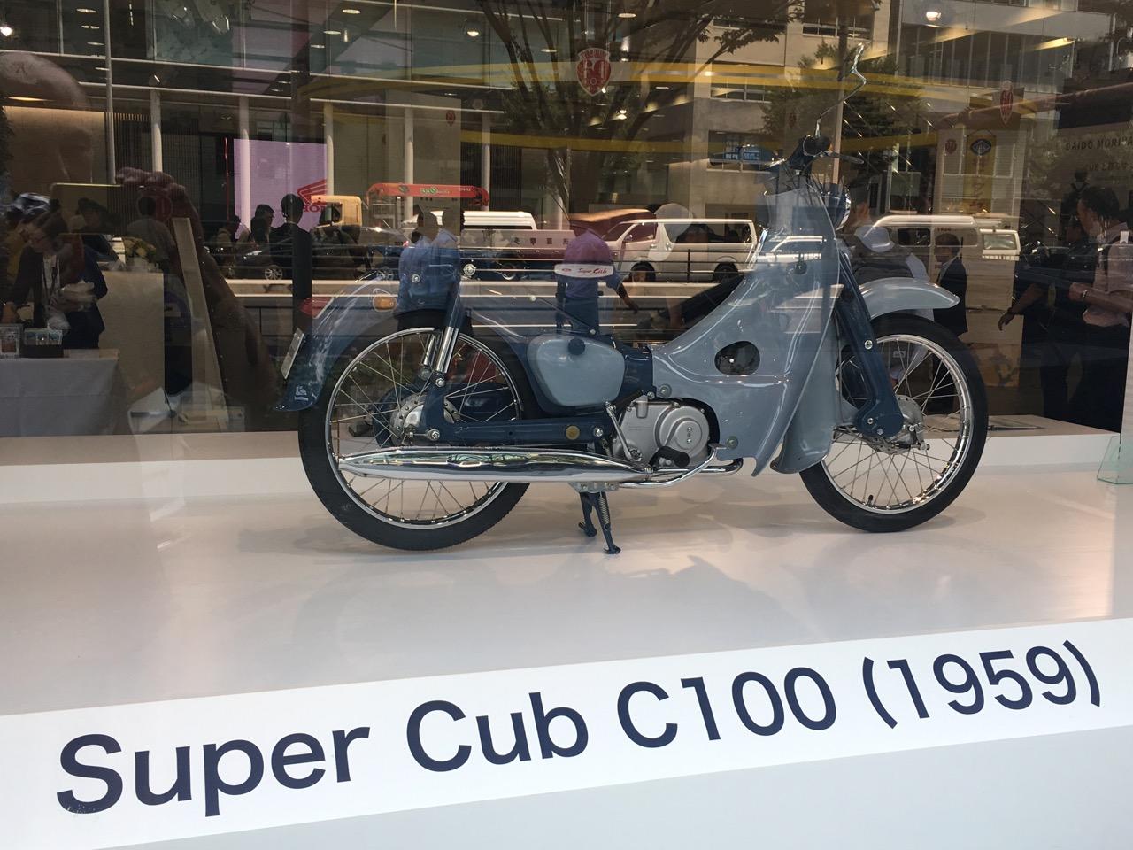 ホンダスーパーカブC100